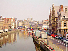 Rent a car in Ghent