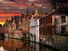 Rent a car in Bruges
