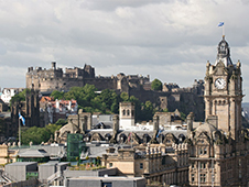 Autonoleggio economico a Edimburgo