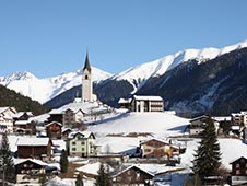 Economical car rental in Davos
