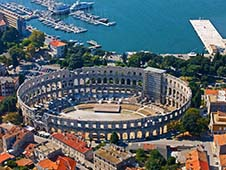 Economical car hire in Pula