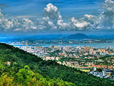 Economy car rentals on the island. Penang