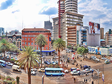 Economical car rental in Nairobi