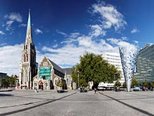 Lei en bil i Christchurch