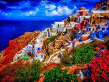 Economisch autoverhuur in Santorini