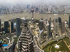 Økonomisk bil i Shanghai