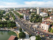 Ekonomická autopůjčovna v Sofii
